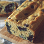 Vanilla Blueberry Protein Bread