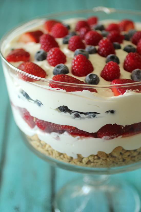 No Bake Cheesecake Trifle Dashing Dish