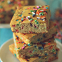 Grain Free Funfetti Cake Protein Blondies