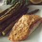 Garlic Parmesan Salmon & Asparagus