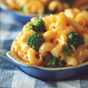 Crockpot Mac & Cheese with Chicken & Broccoli
