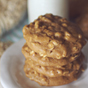 PB2 Oatmeal Breakfast Cookies