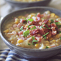 Clean Eating Crockpot Potato Ham Chowder