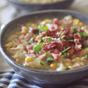 Clean Eating Crockpot Potato Ham Chowder